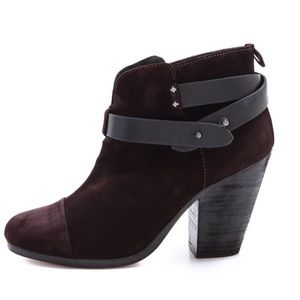 Rag & Bone Harrow Suede Bootie